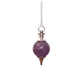 amethyst sphere pendulum