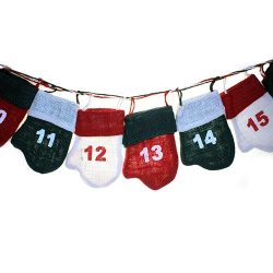 elf mittens advent calendar