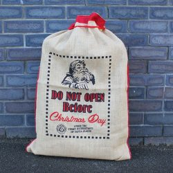 santa sack do not open before christmas day