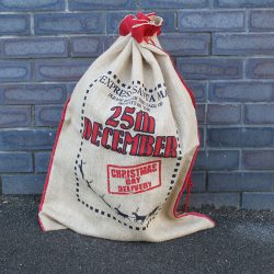 25th december express delivery santa sack