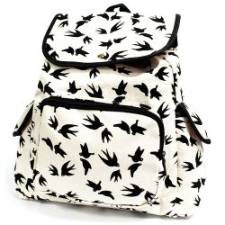 black swallow travelers backpack