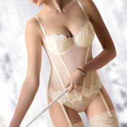 gala corset ivory